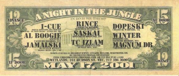 a night in the jungle 2001