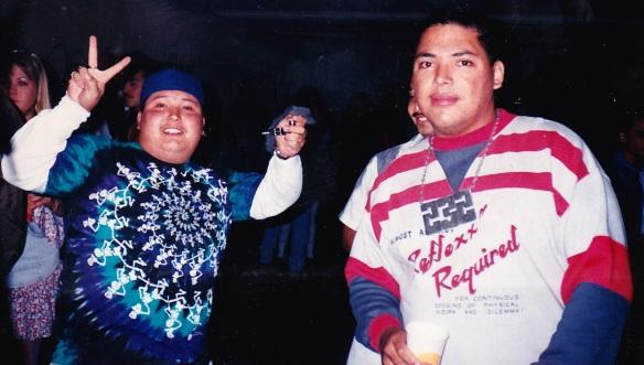 bobby saenz and dj rock at opium 91