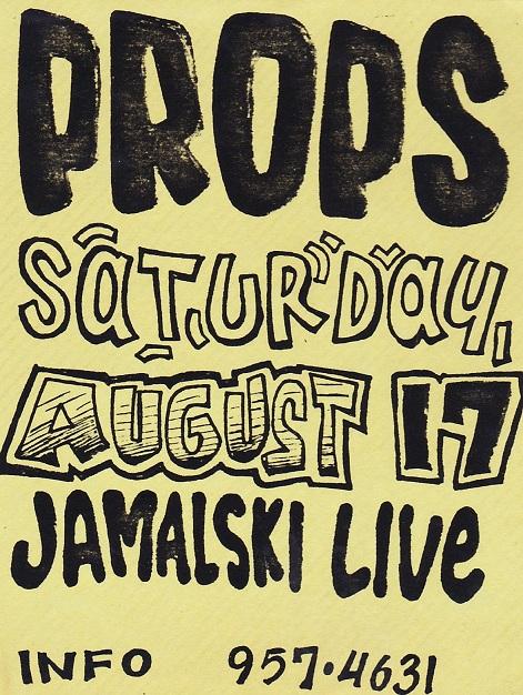 JAMALSKI LIVE