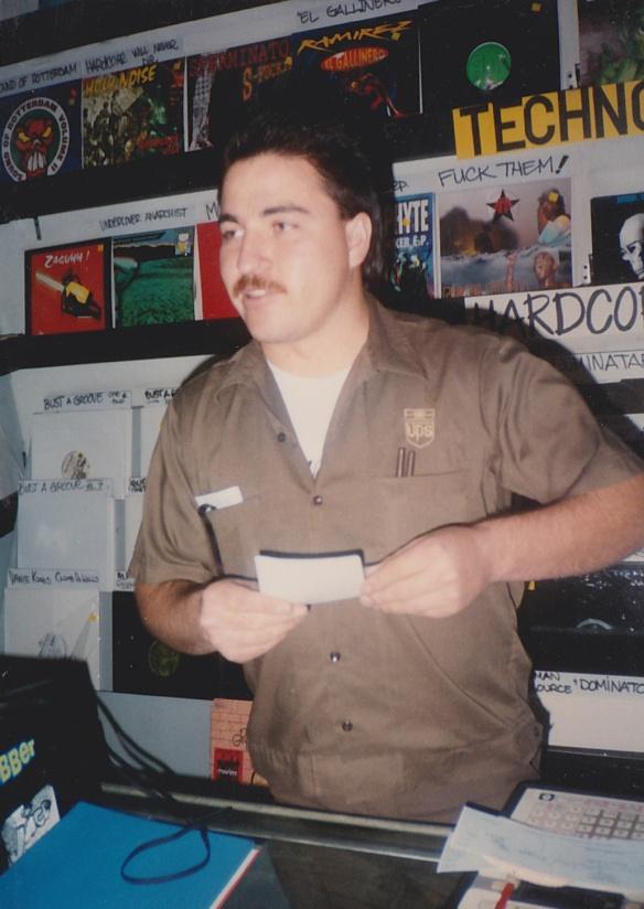 The UPS guy