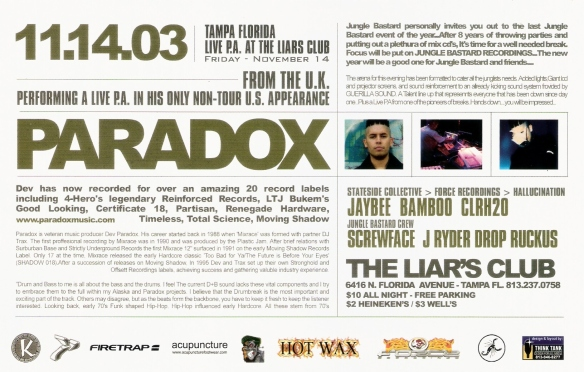 PARADOX IN TAMPA