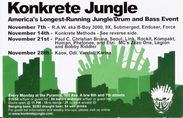 raw at konkrete jungle