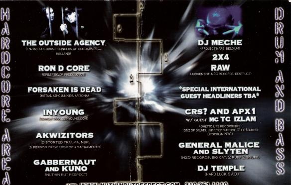RAW X DJ MECHE