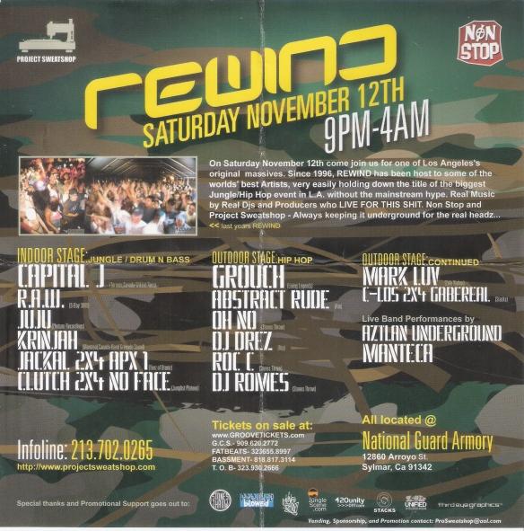 rewind LA
