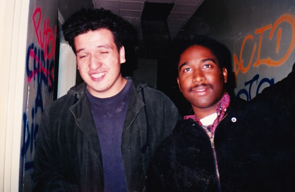 Tiny and Tyrone at Opium 91