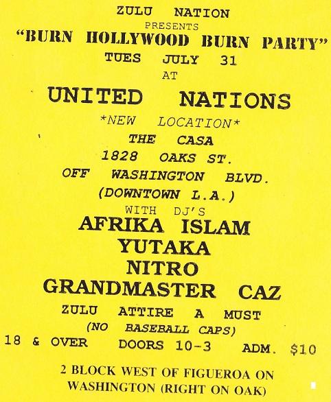 UNITED NATIONS AT LA CASA
