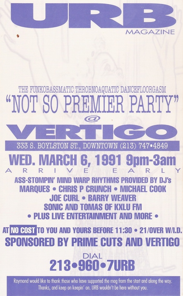 URB PARTY 91