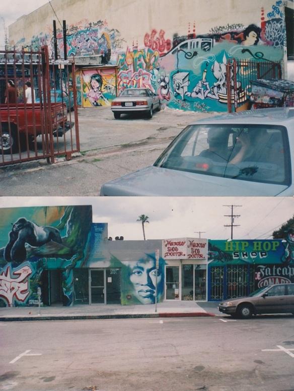 Beat Non Stop Records Graff